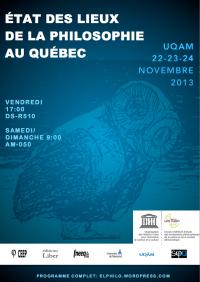 État des lieux de la philosophie au Québec