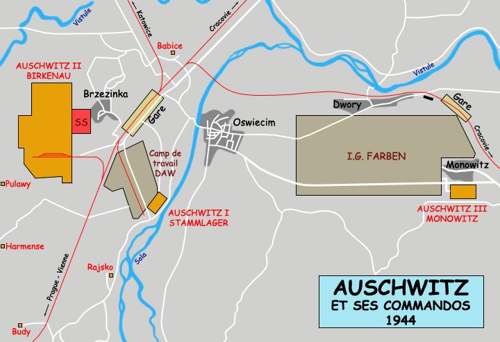 Auschwitz-Plan