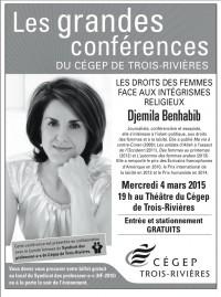 Conférence Djemila Benhabib