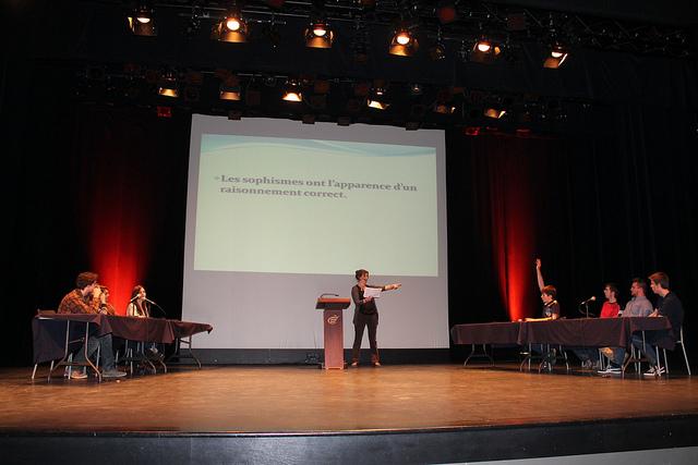 Génies en philo 2013 (La scène)