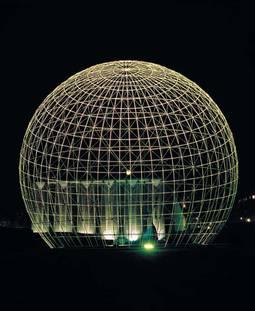 Globe symbolique de l'UNESCO
