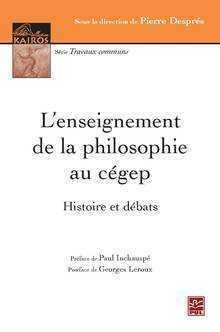 L'enseignement de la philosophie histoire et débats