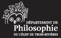 Logo du Département de philosophie du Cégep de Trois-Rivières