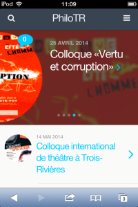 PhiloTR en version pour mobiles